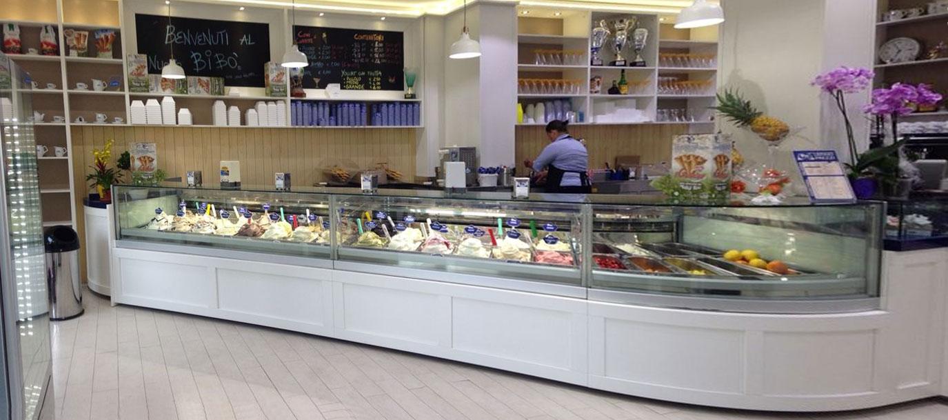 Arredamento gelateria bib merli arredamenti for Arredamenti gelaterie fallimenti